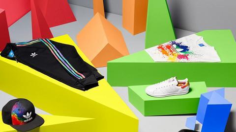 全新彩虹潑墨系列!adidas Originals Pride Pack